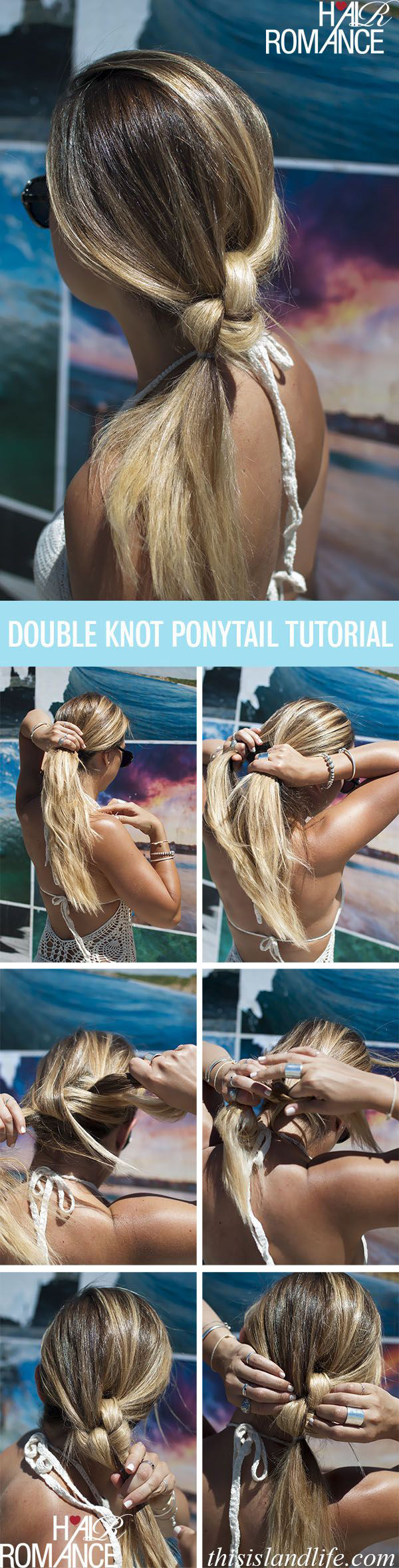 The double knotted pony is an even more interesting variation.