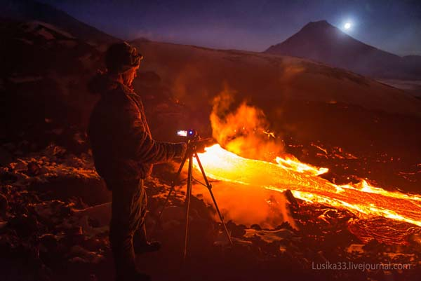 Their photography lets the world see what it might be like inside of an active volcano.