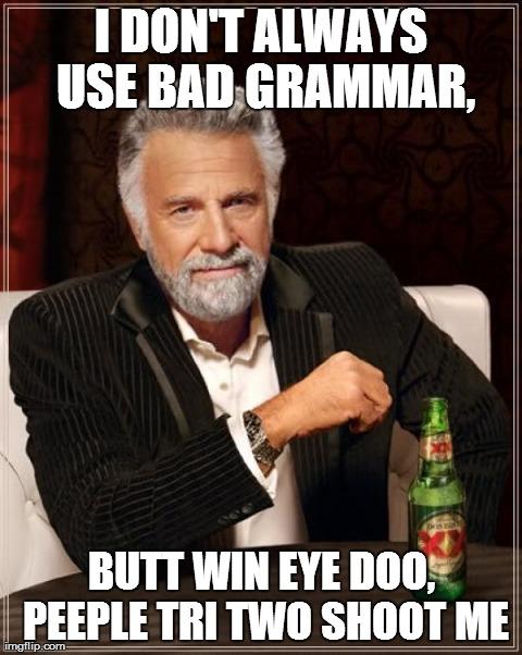 My Grammars are the Bestest