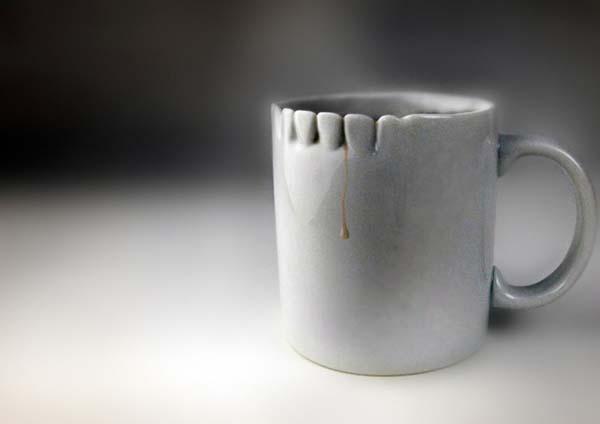 7.) Teeth mug
